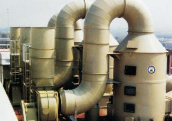 BSJ-PL型酸堿廢氣洗滌塔